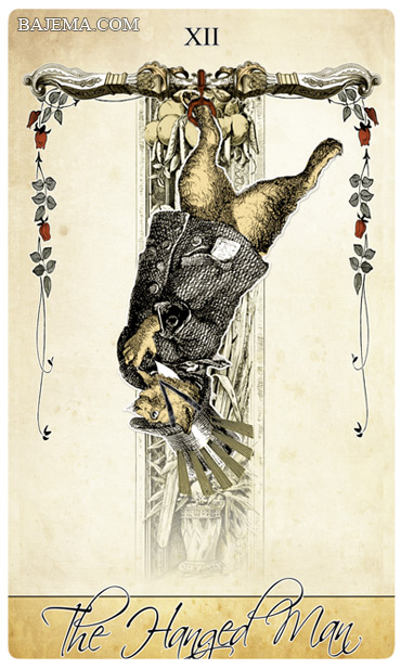 The Isidore Tarot Third Edition The Hanged Man
