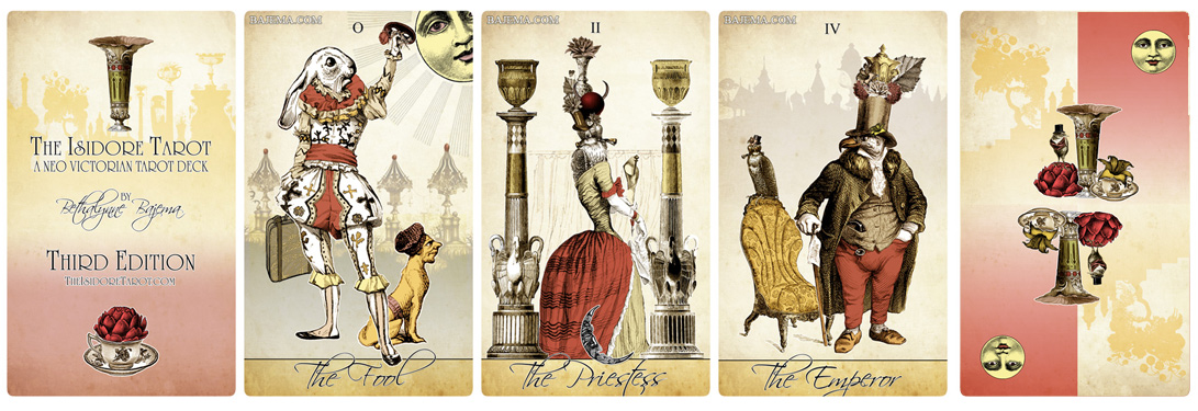 The Isidore Tarot Third Edition Pre-Sale