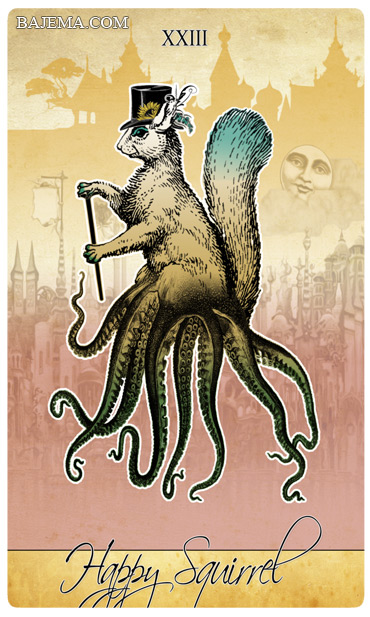 The Isidore Tarot Third Edition Happy Squirrel