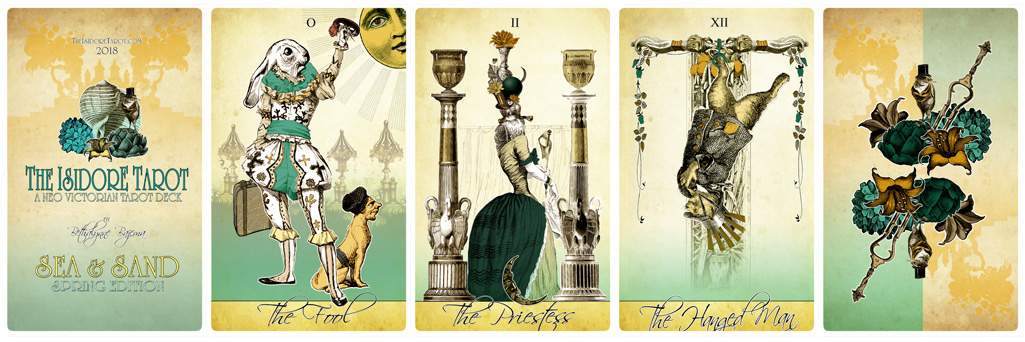 The Isidore Tarot Sea and Sand Spring Special Edition