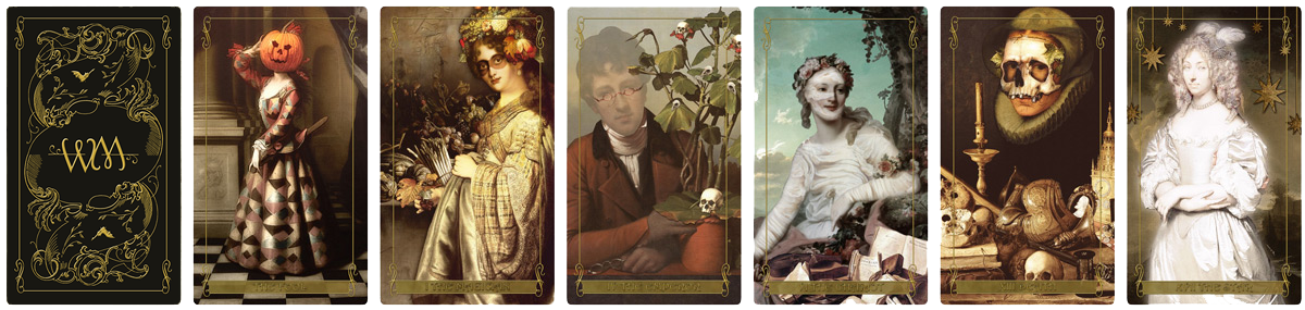 Madam Lydias Tarot of Monsters the Macabre and Autumn Scenes